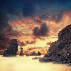 Beautiful Infrared Photography by David Keochkerian