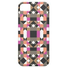 Sunset Geometric Pattern iPhone 5/5S Cover #geometric #pattern #iphonecase #iphonecover
