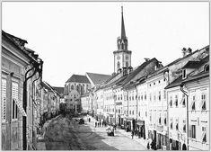 """Villach - Hauptplatz """"Rautter Haus"""" - nach dem original Glasplatten Negativ - Photo dt.1887 Ww2, Louvre, Building, Travel, Villach, House, Viajes, Buildings, Destinations"""