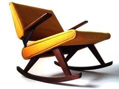 danish rocking chair-pinned by www.auntbucky.com #rocker #rockingchair