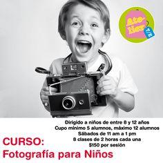 Taller de fotografía para niños  , los sábados los esperamos en #ateliertallerescuela