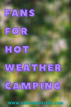 Give you and your family a break from the heat next summer and find the best camping fan to stay cool. #camping#outdoors#outdoorgear#fans#summer Camping Outdoors, Outdoor Camping, Outdoor Fans, Portable Fan, Cool Tents, Camping Lanterns, Camping Essentials, Stay Cool, Camping