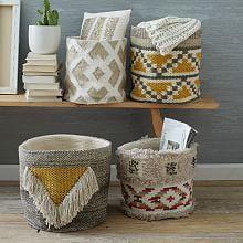 Woven Geo Baskets