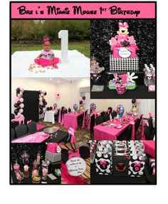 Minnie Mouse Birthday Party Ideas | Photo 1 of 9