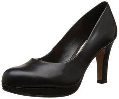 Clarks Crisp Kendra, Womens Court Shoes: Amazon.co.uk: Shoes & Bags
