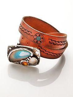 Cosmic Stone Belt by Mikal Winn..handpicked favorite by Free People #freepeople #fashion