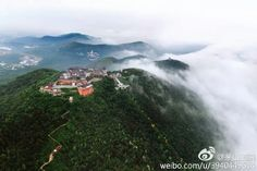 Daoist temple in Mt Mao, Shandong Province