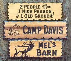 Bildergebnis für wood signs
