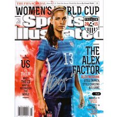 Alex Morgan Autographed 2015 World Cup Sports Illustrated 16x20 Photo