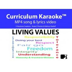 'Living Values' is a read, sing & learn along song that helps students to learn curriculum-aligned content through the powerful, enjoyable, and highly-effective medium of song Learning Resources, Teacher Resources, Classroom Whiteboard, Values Education, Song Of Style, Student Reading, Core Values, Student Engagement, Teaching Music
