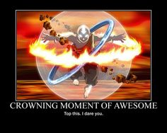 The Last Airbender -- Aang in The Avatar State When Fighting Phoenix King Ozai