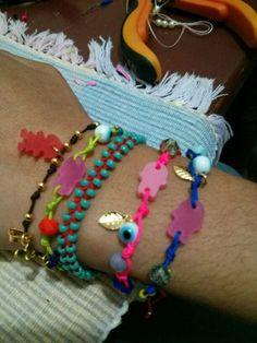 Cute colors full Stone, Colors, Bracelets, Cute, Jewelry, Rock, Jewlery, Bijoux, Kawaii