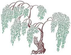 Tree & Topiary Stencil Designs from Stencil Kingdom