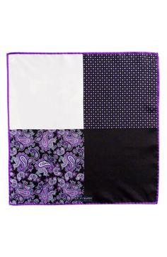 $39, J.Z. Richards Silk Pocket Square. Sold by Nordstrom. Click for more info: https://lookastic.com/men/shop_items/118840/redirect
