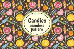 Two yummy patterns that are as sweet as candy! Brightly colored and wonderfully fun, these will be the great settings for your yummiest designs yet! Enjoy! :)