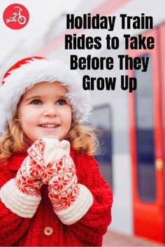 For all who truly believe, we've rounded up the best North Pole and Santa-packed train rides the country. #holidaytrainrides #trainrides #Northpole