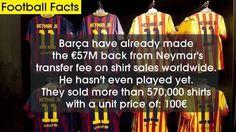 Neymar shirts
