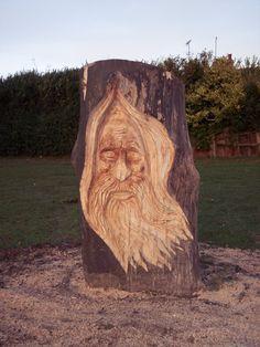 sculpture-Garden-Tree-Face