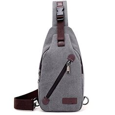 liujingjing Anti Theft Sling Backpack Lightweight Shoulder Chest Crossbody Bag for Women Men Casual Hiking Travel Sports Bag >>> You can get more details by clicking on the image. (This is an affiliate link) Security Bag, Yoga Strap, Zipper Bags, Small Bags, Sling Backpack, Crossbody Bag, Shoulder Bag, Mens Fashion, Backpacks