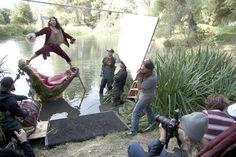 Disney Movie Ad's by Celebrities posing for Leibovitz :)