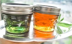 Mint Apple Jelly fun! - The Art of Preserving, made easy. (with or without the green food coloring and no added pectin)