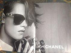 kstewartfans: New Ad for Chanel Eyewear