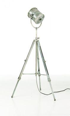 One Light Silver Floor Lamp : 2Z9ED | Tazz Lighting
