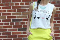 love this flamingo shirt