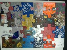 decorate a puzzle