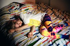 Dylan Forsberg: The Last Magazine - Charlotte Free Extended Charlotte Free, Baby Club, Tie Dye Pants, Sleeping All Day, Best Leggings, Awesome Leggings, Black Milk, Colourful Outfits, True Beauty