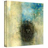 Found it at Wayfair - Art Wall Elena Ray 'Bird Nest' Gallery-Wrapped Canvas Wall Art