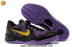 New Nike Zoom Kobe VIII (8) Mesh Black Purple 555035 706 For Wholesale
