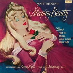 Sleeping Beauty Princess Aurora, who sings like a blue bird, with lips as red, as the red red rose.