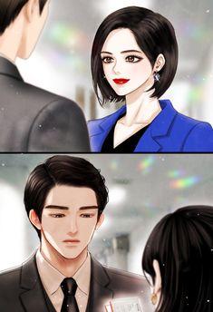 44364 Korean Anime, Korean Art, Anime Love Couple, Cute Anime Couples, Cosplay Tumblr, Romantic Manga, Episode Backgrounds, Romance Art, Couple Illustration