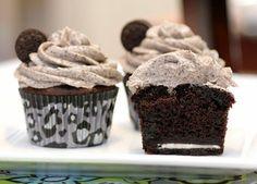 Cupcakes de Oreo  (este ano está a custar-me muito mais, pá!)