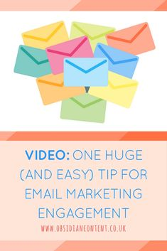 Are you doing email marketing but want to try something new to spark engagement? Try this simple suggestion...  VIDEO: One Huge (and Easy) Tip for Email Marketing Engagement  #emailmarketing #digitalmarketing #marketing #outreach #copywriting #freelance #jeniilowe #obsidiancontent #blog #blogging #video