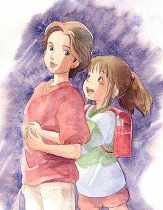 Spirited Away art #StudioGhibli #SpiritedAway