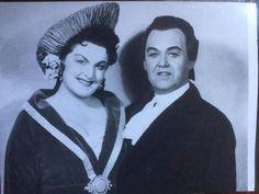 Birgit Nilsson & Jussi Björling  in 'Un ballo in maschera'