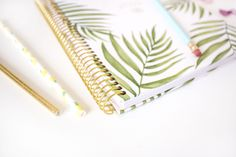 Check out our 2019 Palm Leaves Vision Planner! Yearly Calendar, 2019 Calendar, Bloom Planner, Bloom Where You Are Planted, Palm, Leaves, Organization, This Or That Questions, Check