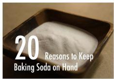 Baking Soda: 20 Frugal Preparedness Uses