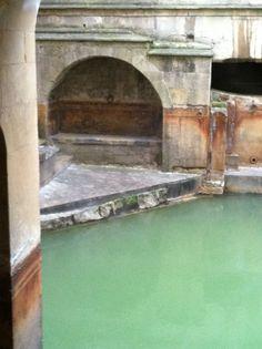 Roman Baths at Aquae Sulis (Bath, England)  #Britain #travel #sacredsites