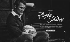The sales trader (and former fullback) Mr Josh Lewsey MBE shows how best to dress around this season essential Mr Porter, Rugby, Seasons, Shirts, Fictional Characters, Night, Seasons Of The Year, Dress Shirts, Fantasy Characters