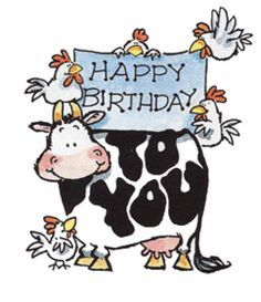 Penny Black Rubber Stamp Happy Birthday to You Cow - Google Search