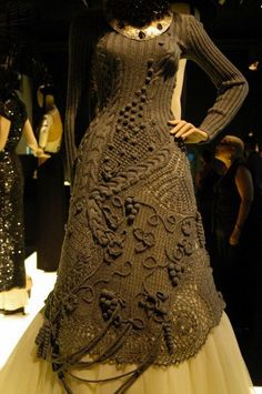 This dress by Jean Paul Gaultier always makes me stop and look.