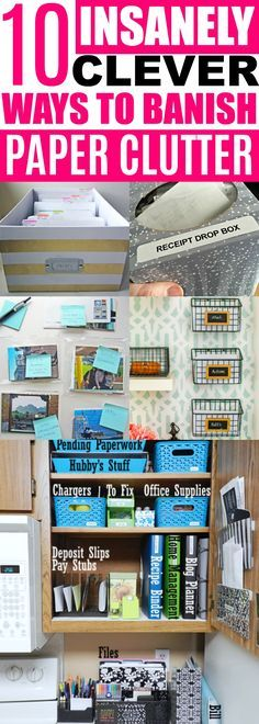 Organizing Paperwork Ideas #organization