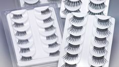 Qosmedix False Eyelashes | Qosmedix offers a variety of fine quality eyelashes made from synthetic hair in over 20 styles to achieve just about any desired effect – including strip, corner and individual lashes.