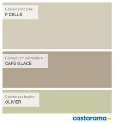 Castorama Nuancier Peinture - Mon harmonie Peinture  FICELLE satin de COLOURS Collection Beautiful Small Homes, Rustic Design, How To Plan, Satin, Mauve, Architecture, Sweet, Interior, Diy
