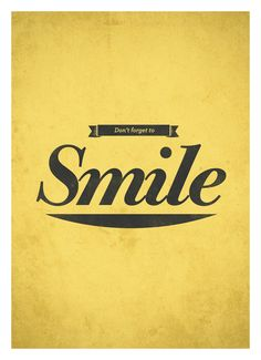 Don't forget to smile | Poh Koon