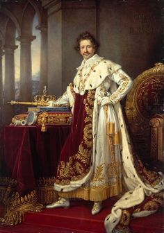 Ludwig I, King of Bavaria (1826) Joseph Karl Stieler.