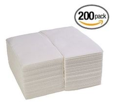 200 - Linen-Feel Guest Towels / Disposable Cloth-Like Hand Napkins, White ChefLand http://www.amazon.com/dp/B00O70C35Y/ref=cm_sw_r_pi_dp_qf80ub04D4ZCS